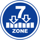 Provides 7-zone support